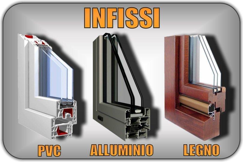 Infissi e serramenti in pvc alluminio legno prezzi genova finestre - Finestre genova prezzi ...